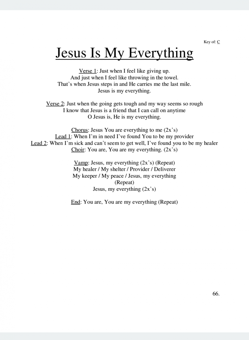 Christ Is My Everything - YouTube